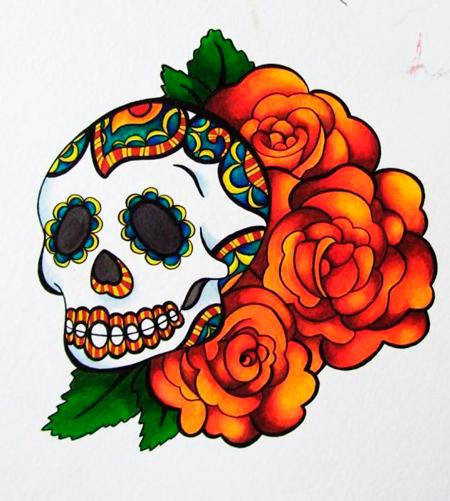 Рисунки черепа