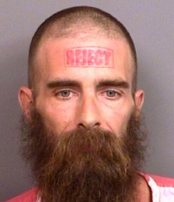 Татуировки на лбу
